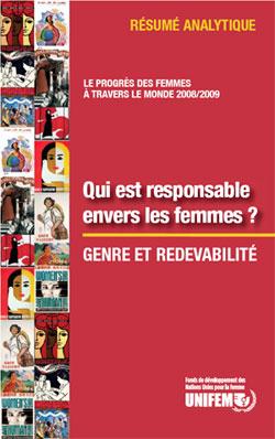 Le progrès des femmes à travers le monde 2008/2009 - Résumé