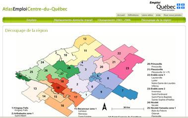Atlas Emploi Centre-du-Québec