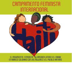 Camp de solidarité Myriam Merlet, Magalie Marcelin et Anne-Marie Coriolan