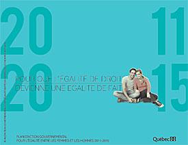 Plan d'action gouvernemental pour l'égalité entre les femmes et les hommes 2011-2015