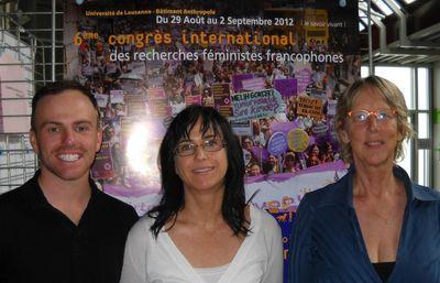 Kevin Lavoie, Isabel Côté et Denyse Côté