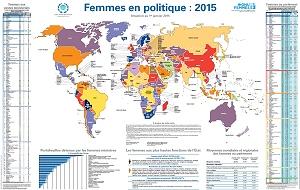 Carte des femmes en politique 2015