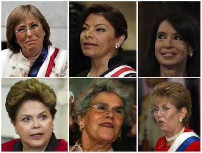 Les femmes au pouvoir en Amérique latine