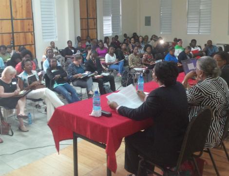 À la séance Femmes, politique et administration publique