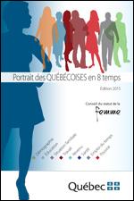 Portrait des Québécoises en 8 temps – Édition 2015