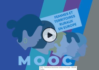 MOOC Femmes et territoires ruraux en Europe