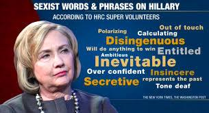 Observatoire du sexisme - Hillary 2016