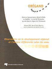 Genre et gouvernance décentralisée au Québec : le cas de l'économie sociale dans sept régions du Québec